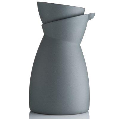 Mælkekande-grå plus espresso kop