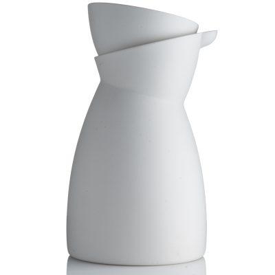 Mælkekande-hvid plus espresso kop