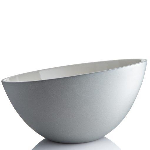 boble skål stor hvid